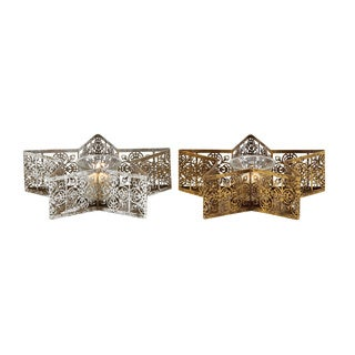 Assorted Star Shaped Metal 66048 Votive Holder