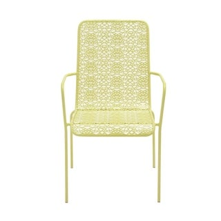 Classy Styled Metal Outdoor Chair