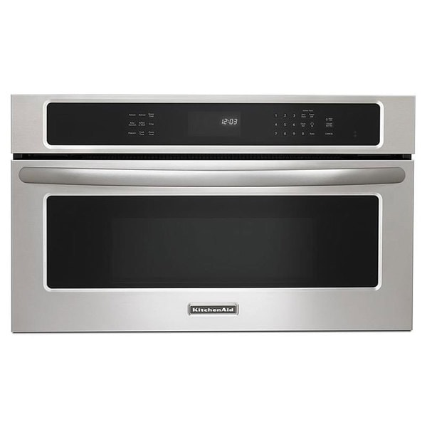 KitchenAid 1.4 Cubic Foot Built-in Stainless Steel Microwave Oven