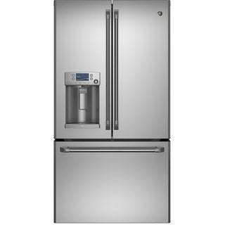 GE 28.6 Cubic Foot Capacity French Door Stainless Steel Refrigerator