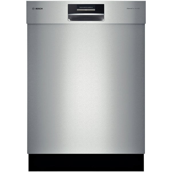 Bosch Semi-integrated Stainless Steel Dishwasher with 16 Place Setting