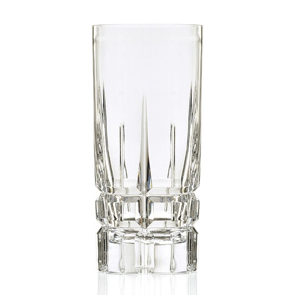 Crystal Carrara Hand-cut Collection Davinci Series High Ball (Set of 4) 15463303