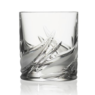 Cetona Collection Hand-cut Double Old Fashion Tumbler from the DaVinci Line (Set of 4)