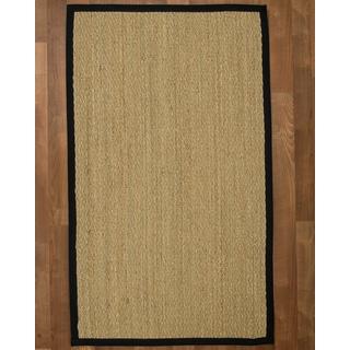Pinamar Black Seagrass Rug (9' x 12')