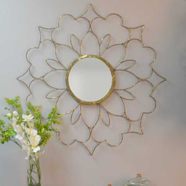Dawn Round Wall Mirror