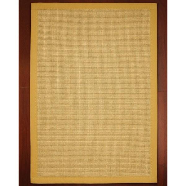 Roma Gold Sisal Rug (8' x 10')