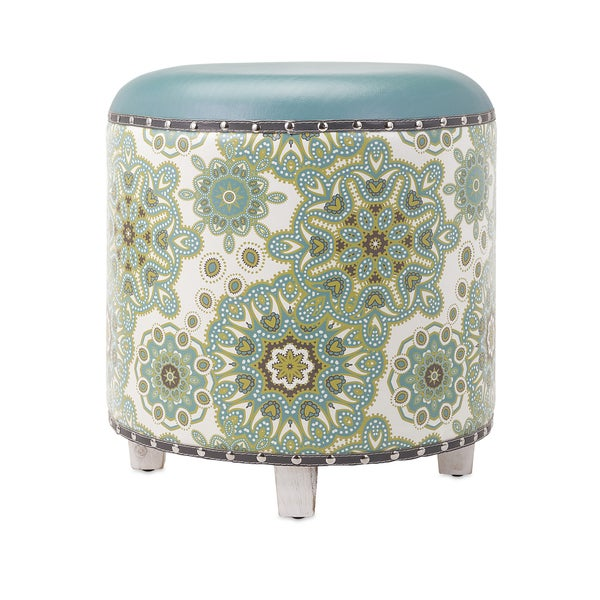 Essentials Reflective Ottoman