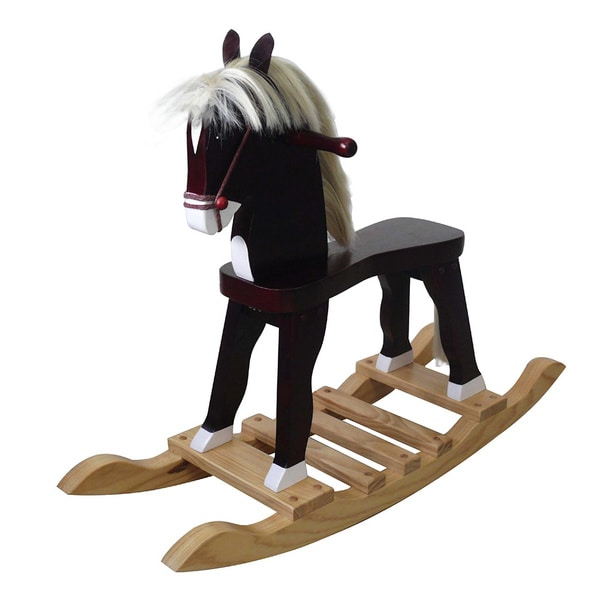 Teamson Kid's Windsor Derby Prince Rocking Horse