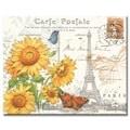 Counterart Glass Sunflower Postcard Cutting Board