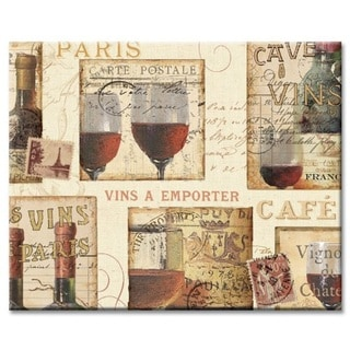 Counterart Glass French Cellar Wine Design Cutting Board