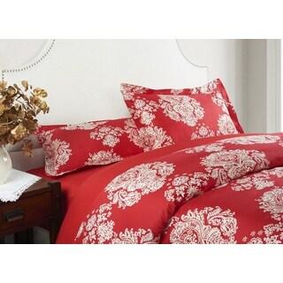Shanghai Collection Cotton Queen-size 3-piece Duvet Cover Set