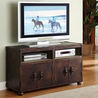 Lazzaro Leather General Leather Entertainment Center