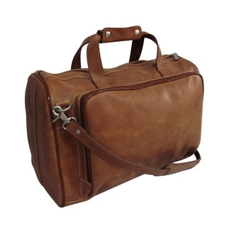 Amerileather 18-inch Vintage Tan Leather Carry on Weekend Duffel