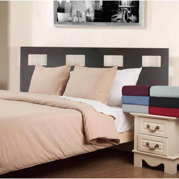 Water & Stain Resistant 3-piece Duvet Cover Set
