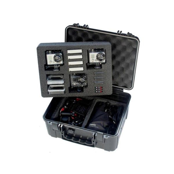 Go Professional XB-653 Pro Watertight Rugged Case for HD GoPro Cameras, Fits - Hero, Hero 2, Hero 3, Hero 3+