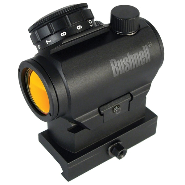 Bushnell AR Optics TRS-25 HiRise Red Dot Riflescope with Riser Block, 1x25mm (Refurbished)