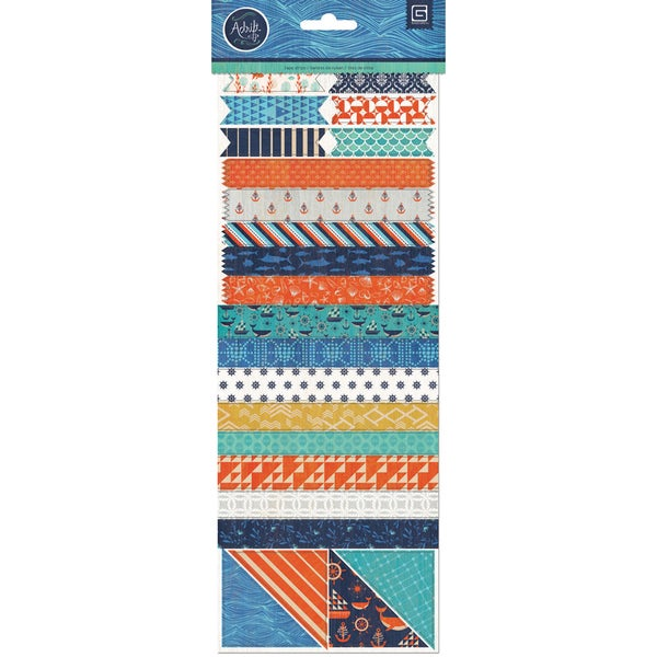 Adrift Vellum Tape Stickers