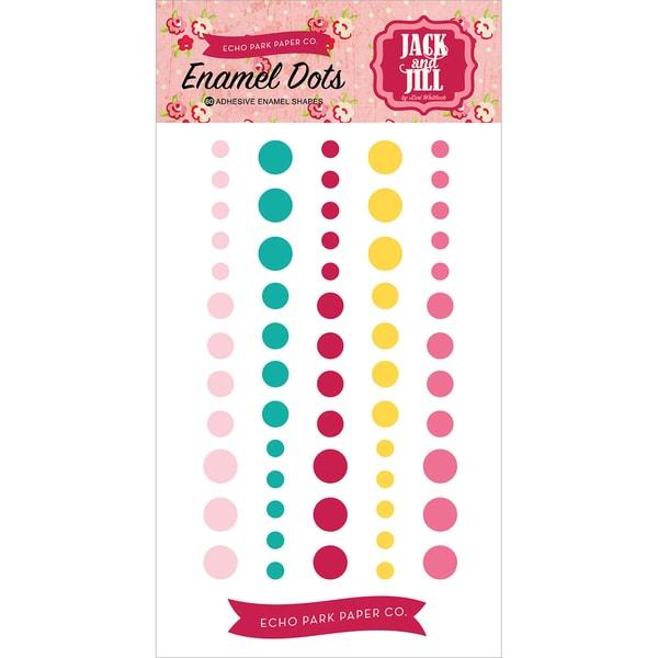 Jack & Jill Girl Enamel Dots