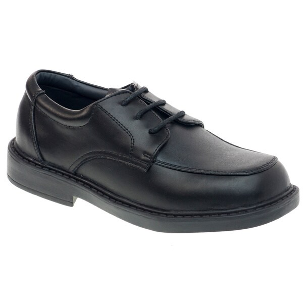 Academie Gear Boys' Leather Schoolmate Lace-up Shoes