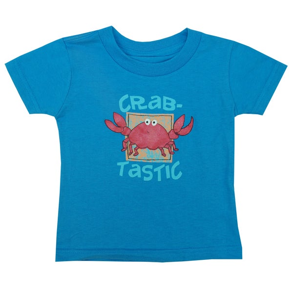 Artisans Apparel Infant's 'Crab-Tastic' Short Sleeve T-Shirt