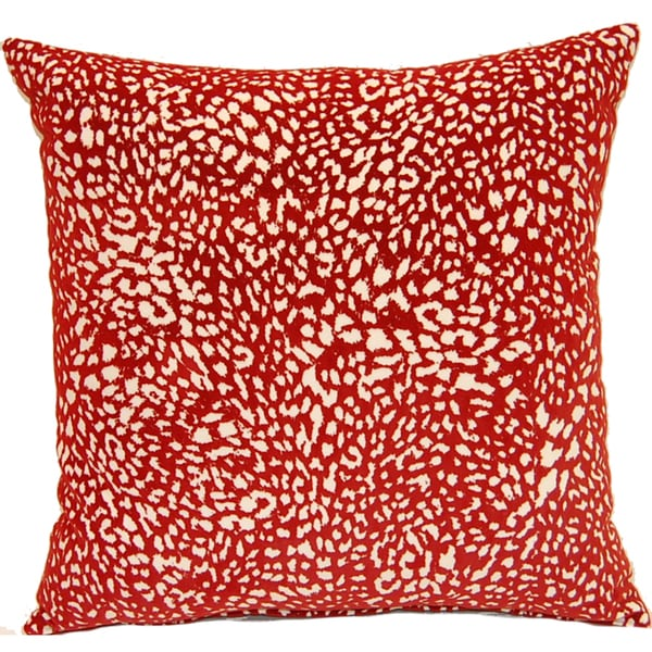 Jumanji Red 17in Single Throw Pillow