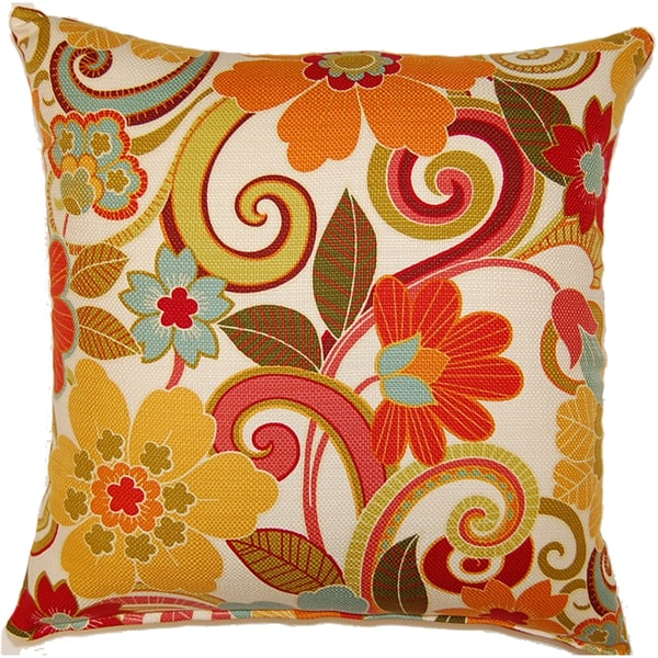 Zavalla Rainbow 17in Single Throw Pillow