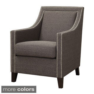 Janelle Chic Nail-head Accent Chair
