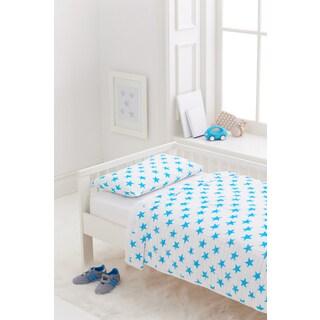 Aden + Anais Fluro Blue Classic Toddler Bedding Set