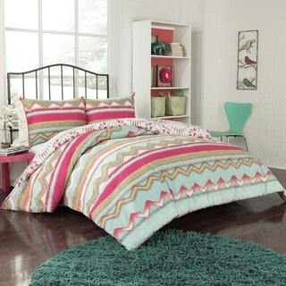 Vue Zazza 3-piece Comforter Set