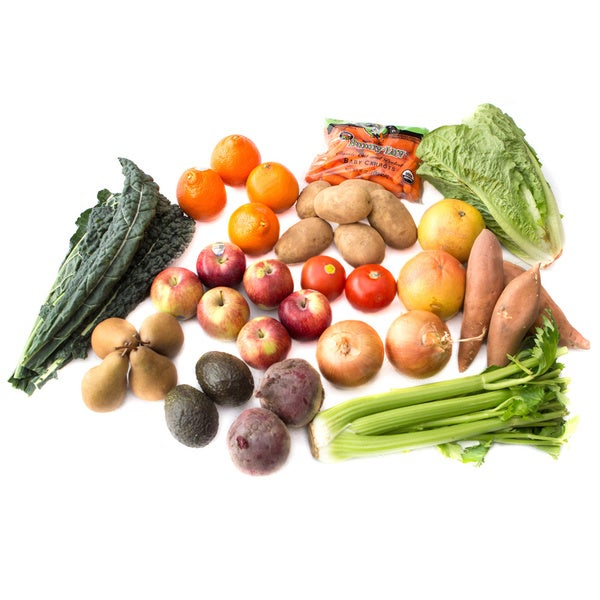 Your Health Source Organic Produce 12-pack Large Box (Local Delivery)