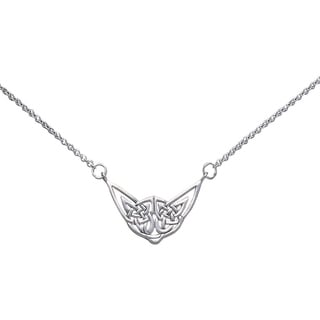 CGC Sterling Silver Celtic Knotwork Necklace