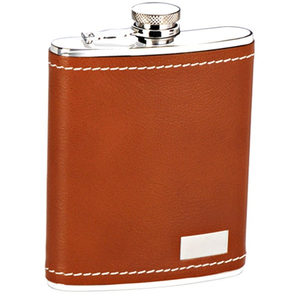 Keep It Personal Brown Flask