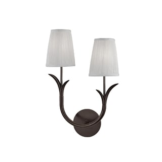 Hudson Valley Deering I 2-Light Right Wall Sconce, Old Bronze
