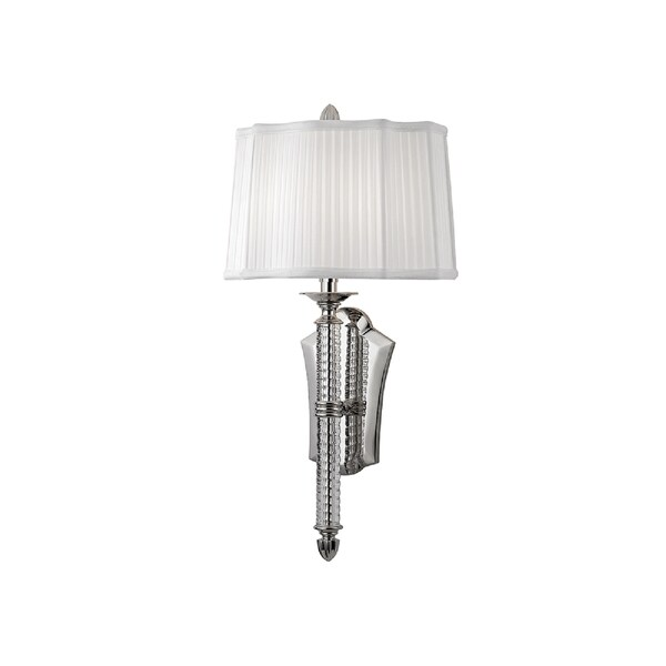 Hudson Valley St. George I 2-Light Wall Sconce, Polished Nickel