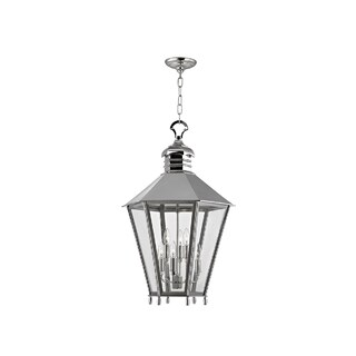 Hudson Valley Barstow I 6-Light Large Lantern, Polished Nickel
