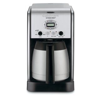 Cuisinart DCC-2750 Silver Extreme Brew 10-cup Thermal Programmable Coffeemaker (Refurbished)