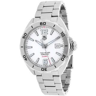 Tag Heuer Men's WAZ2114.BA0875 Formula 1 Round Silvertone Bracelet Watch