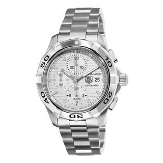 Tag Heuer Men's CAP2111.BA0833 Aquaracer Round Silvertone Bracelet Watch