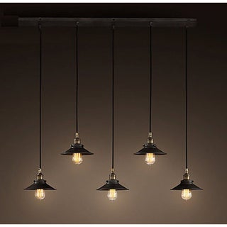 Hollie Adjustable Cord 5-light Edison Lamp