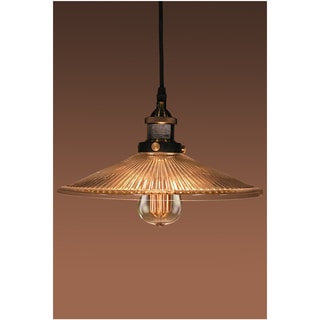 Shiloh Adjustable Height 1-light Edison Lamp with Bulb