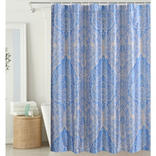 Hamilton Park Damask Shower Curtain (hooks included)