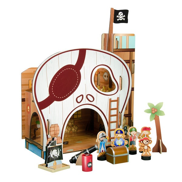 Teamson Kids Pirate Table Top Play Set 15468045