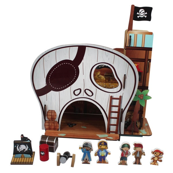 Teamson Kids Pirate Table Top Play Set