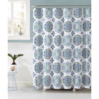 Sidney Medallion Geometric Shower Curtain