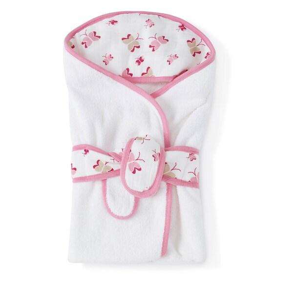 aden + anais Princess Posie Baby Bath Wrap