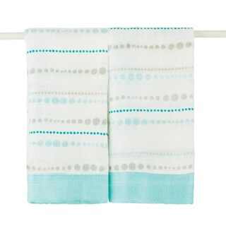 aden + anais Azure Bead Bamboo Issie Security Blankets