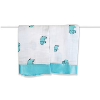 aden + anais Declan Elephant Classic Issie Security Blankets