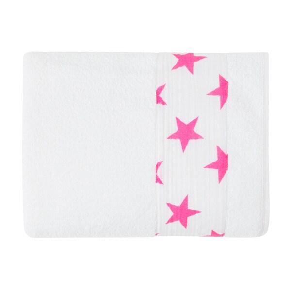 aden + anais Fluro Pink Toddler Towel