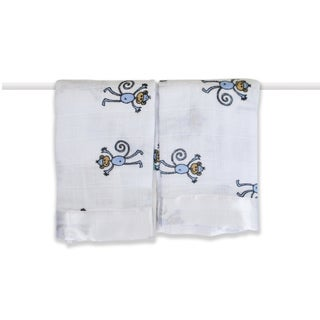 aden + anais Amelia Monkey Classic Issie Security Blankets