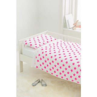aden + anais Fluro Pink Classic Toddler Bedding Set